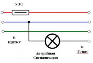 Электрическая схема топас с одним компрессором6